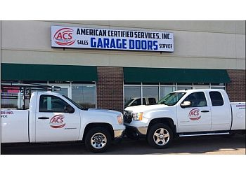 Lincoln garage door repair American Certified Services, Inc.