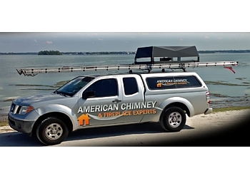 Tampa chimney sweep American Chimney Experts