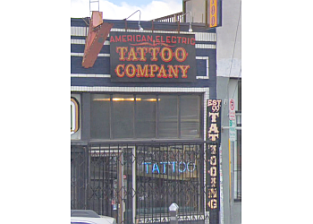 Los Angeles tattoo shop American Electric Tattoo Company