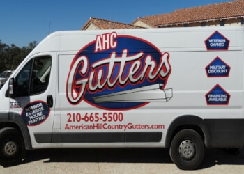 San Antonio gutter cleaner American Hill Country Gutters LLC