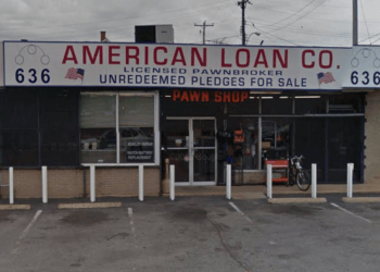 Memphis pawn shop American Loan Co.