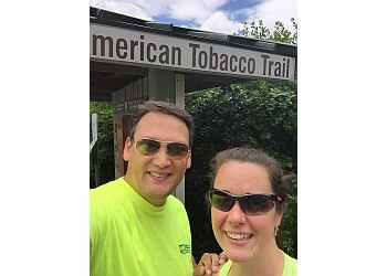 Durham hiking trail American Tobacco Trail
