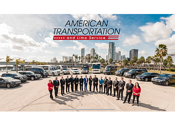 Miami limo service American Transportation & Limo Services