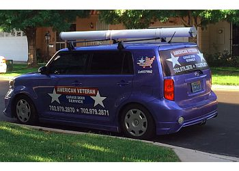 Las Vegas garage door repair American Veteran Garage Doors
