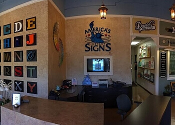 Anaheim sign company America's Instant Signs