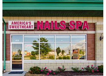 Naperville nail salon America's Sweetheart Nails Spa