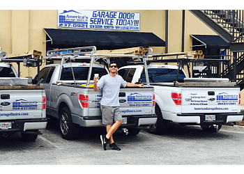 Jacksonville garage door repair America's garage doors llc