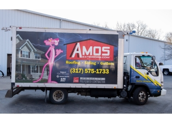 Indianapolis roofing contractor Amos Exteriors, Inc.