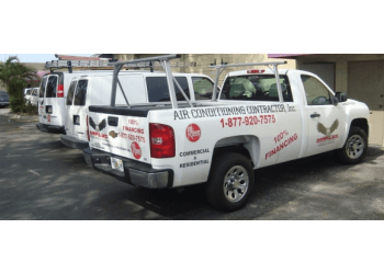 Hollywood hvac service Amplus Air Conditioning Contractor, Inc