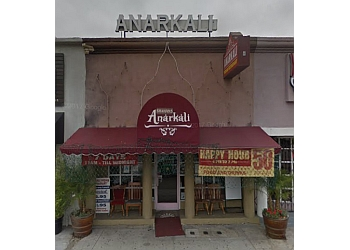 Los Angeles indian restaurant Anarkali Indian Restaurant