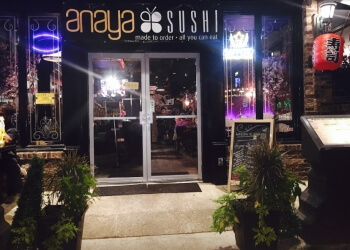 New Haven sushi Anaya Sushi