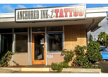 Eugene tattoo shop Anchored Ink Tattoo