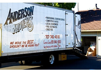 Vallejo moving company Anderson Bros Movers