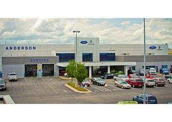 Lincoln car dealership Anderson Ford