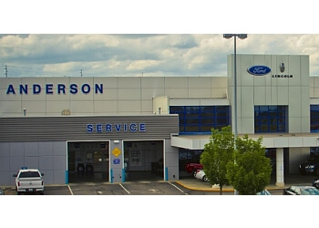 Lincoln car dealership Anderson Ford, Lincoln
