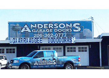 Seattle garage door repair Anderson's Garage Doors co.