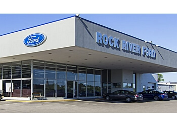 Rockford car dealership Anderson's Rock River Ford