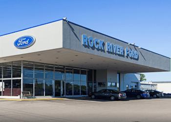 Rockford car dealership Anderson's Rock River Ford