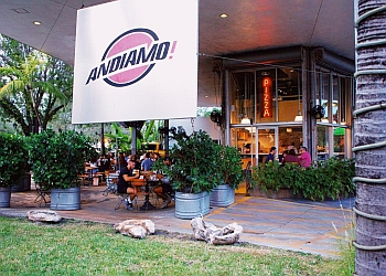 Miami pizza place Andiamo Pizza