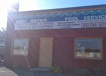 Minneapolis pool service Andy Brown Pool Service