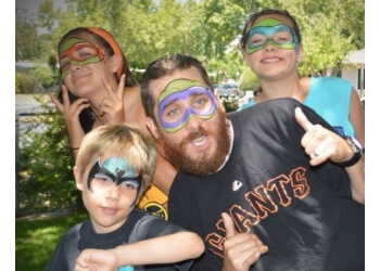 Fremont face painting Angies Paintbrush Face Painting