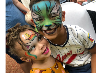 Baton Rouge face painting Animated Art