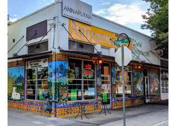 Albuquerque vegetarian restaurant Annapurna's World Vegetarian Cafe