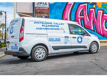 Palmdale plumber Antelope Valley Plumbing, Inc.