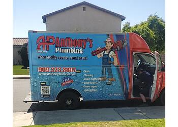 Fontana plumber Anthony's Plumbing