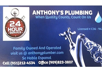 Anthony's Plumbing & Rooter