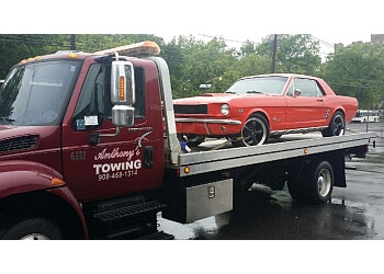 Elizabeth towing company Anthony's Towing
