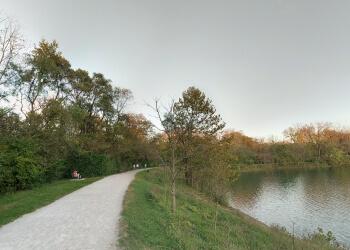 Columbus hiking trail Antrim Park