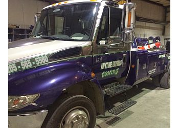 Birmingham towing company Anytime Express Towing & Recovery Inc.
