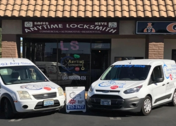 Las Vegas locksmith Anytime Locksmith