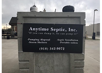 Tulsa septic tank service Anytime Septic, Inc.