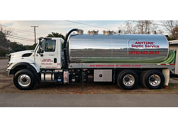 San Diego septic tank service Anytime Septic Service