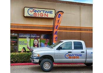 Chula Vista sign company Anytime Sign Solutions