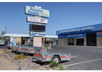 Mesa car repair shop Apache Sands Service Center