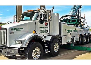 Houston towing company Apple Towing Company
