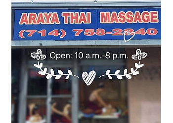 Anaheim massage therapy Araya Thai Massage