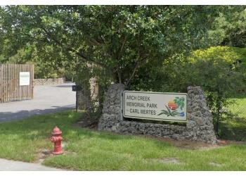 Miami hiking trail Arch Creek Memorial Park