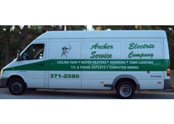 Gainesville electrician Archer Electric Service Company