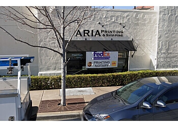 Fremont printing service Aria Printing & Shipping