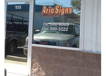 North Las Vegas sign company Ario Signs & Graphics