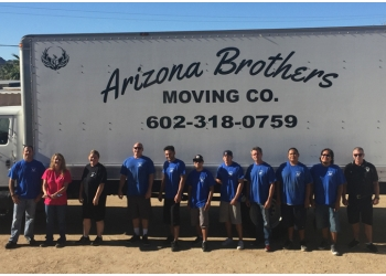 Phoenix moving company Arizona Brothers Moving Co.
