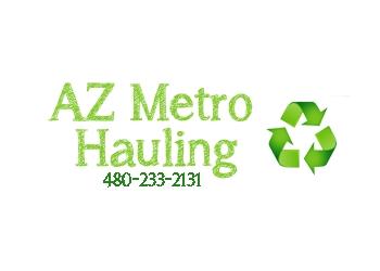 Mesa junk removal Arizona Metro Hauling