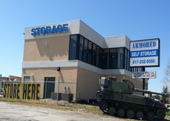 Fort Worth storage unit Armored Self Storage
