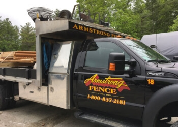 Boston fencing contractor Armstrong Fence Co.