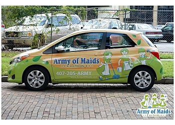 Orlando house cleaning service Army of Maids