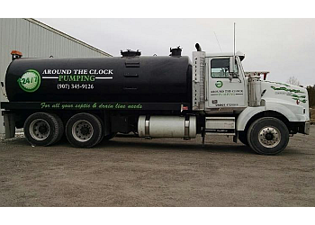Anchorage septic tank service Around The Clock Pumping LLC